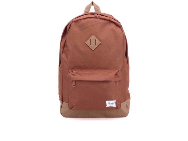 Červenohnědý batoh Herschel Heritage
