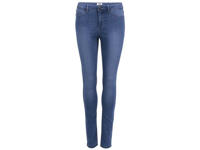 Modré úzké džíny Vero Moda Flex