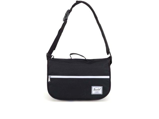 Černá taška přes rameno Herschel Pop Quiz Messenger