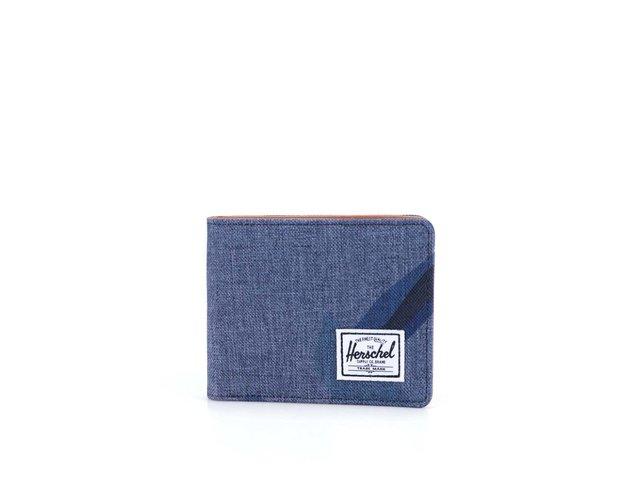 Tmavě modrá peněženka se vzorem Herschel Hank