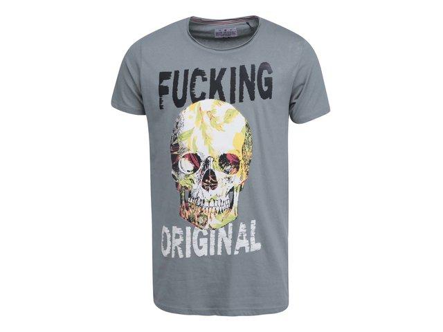 Khaki triko s lebkou Shine Original
