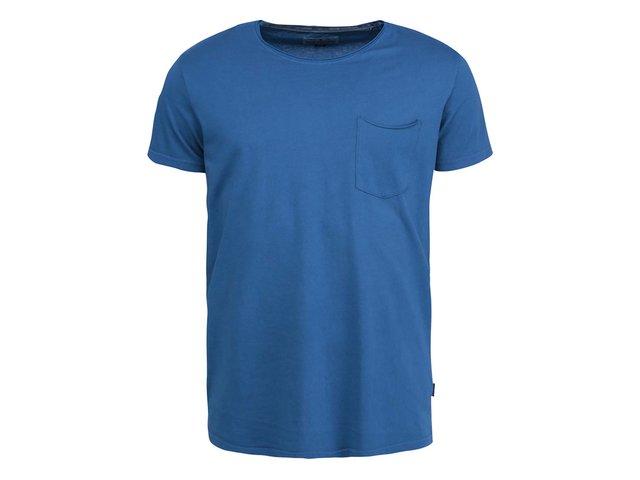 Modré triko s kapsičkou Shine Original