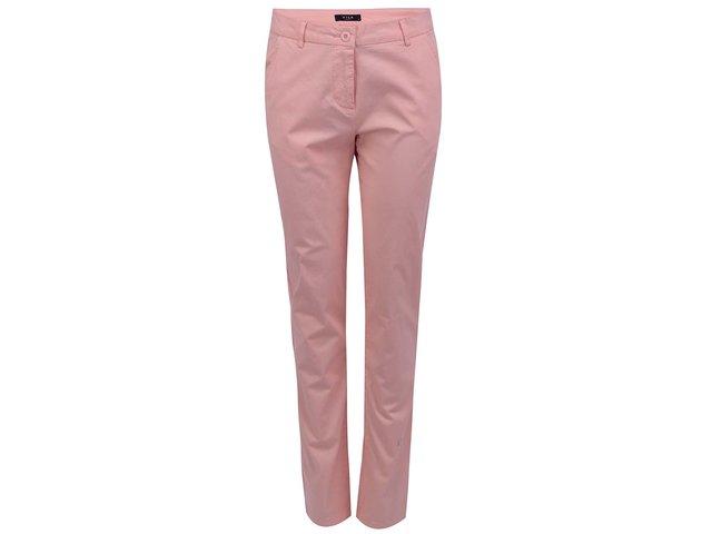 Meruňkové kalhoty VILA Ollay