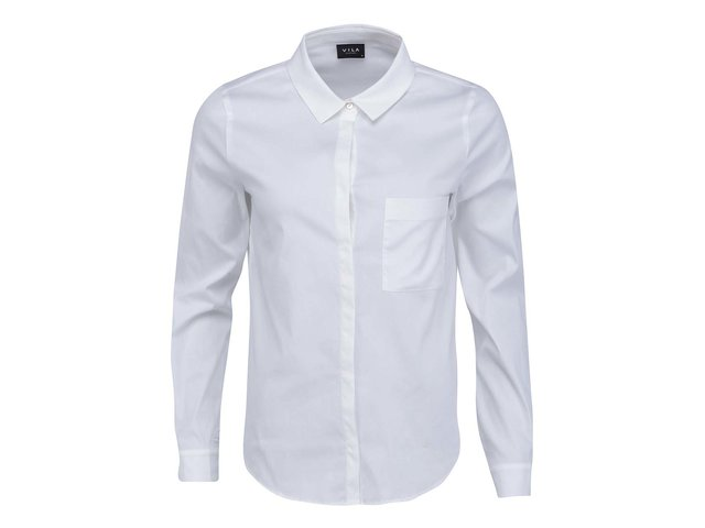 Bílá košile VILA Pitta
