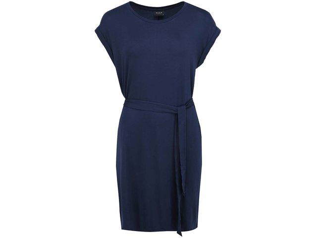 Tmavě modré šaty VILA Mate