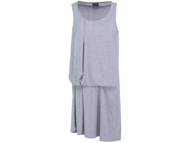 Světle šedé šaty VILA Hel