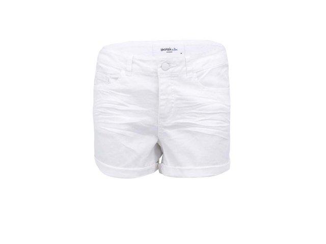 Bílé kraťasy Vero Moda Brix