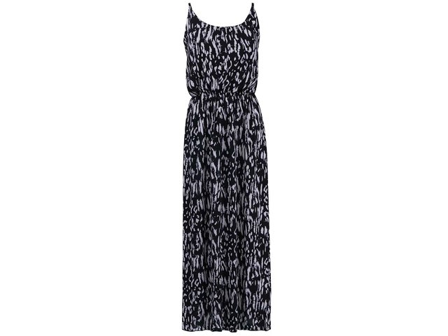 Černo-bílé vzorované maxišaty Vero Moda Easy