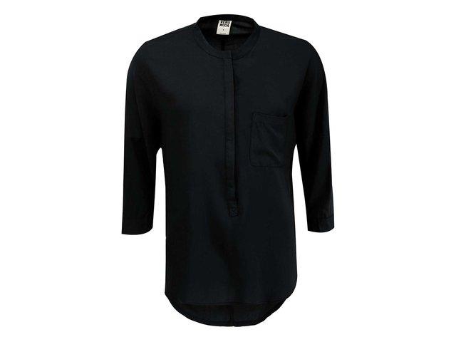 Černá halenka s 3/4 rukávy Vero Moda Easy