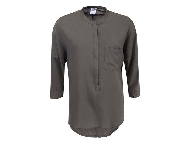 Khaki halenka s 3/4 rukávy Vero Moda Easy