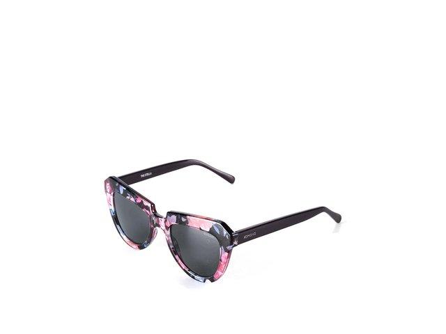 Barevné květované sluneční brýle Komono Stella