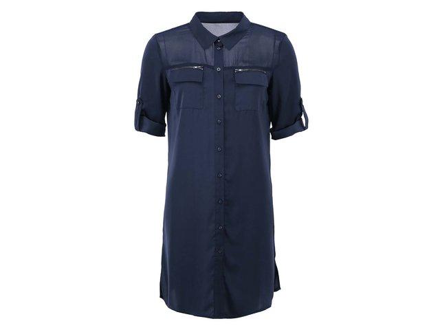 Tmavě modré šaty ONLY Avery