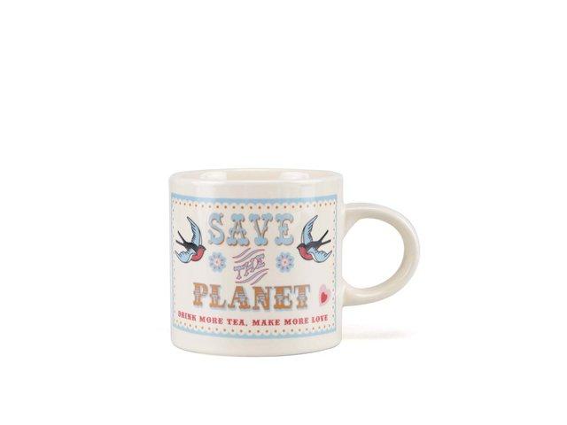 Krémový hrnek Rex Save The Planet