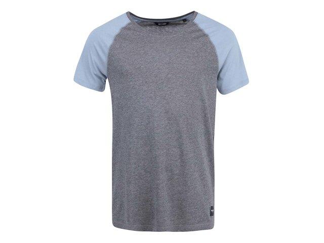 Modro-šedé triko ONLY & SONS Trisdan