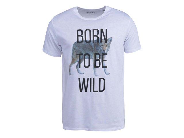 Bílé pánské triko ZOOT Originál Born to be Wild