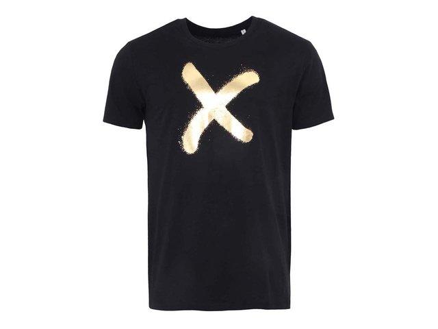 Černé pánské triko ZOOT Originál Zlatý sprej