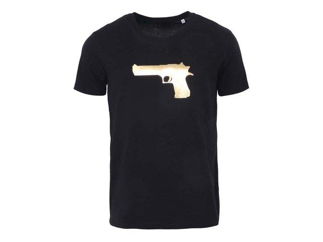 Černé pánské triko ZOOT Originál Zlatá pistole