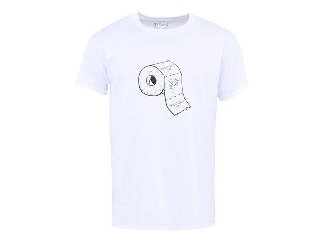 Bílé pánské triko ZOOT Originál Toaleťák
