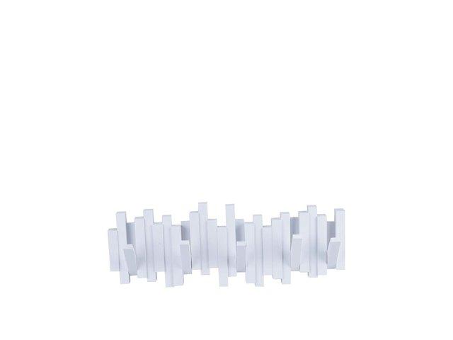 Bílý vyklápěcí věšák Umbra Sticks