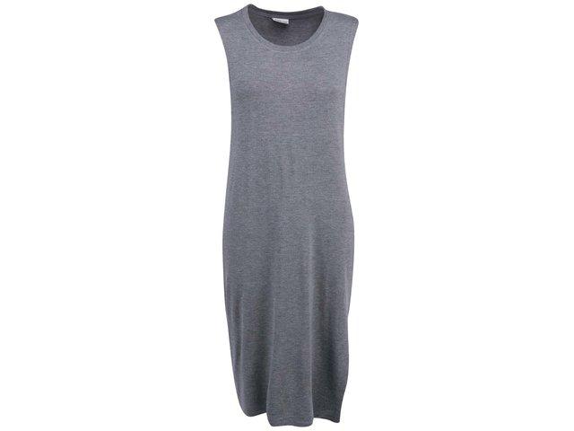 Tmavě šedé delší šaty Noisy May Vincent