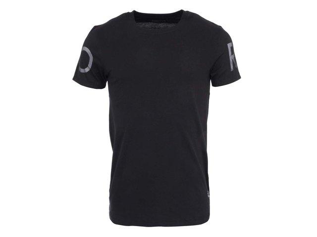 Černé triko Jack & Jones Mono