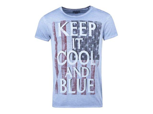 Modré triko s potiskem Shine Original Special