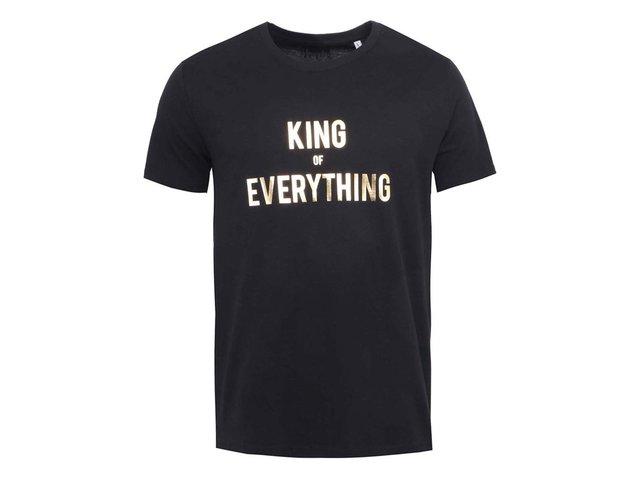 Černé pánské triko ZOOT Originál King of Everything