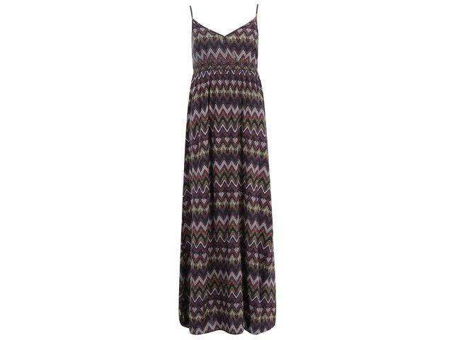 Barevné dlouhé šaty se vzorem ONLY Choice