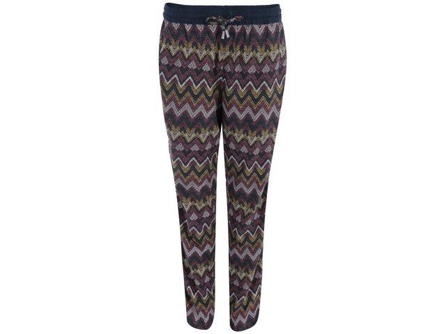 Barevné volnější kalhoty se vzorem ONLY Choice