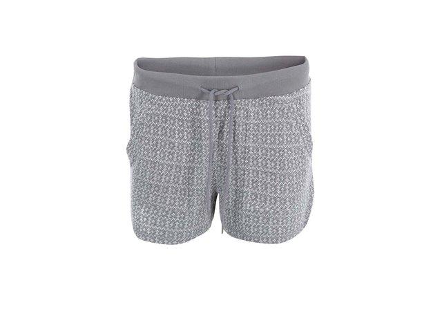 Světle šedé teplákové kraťasy Vero Moda Ellen