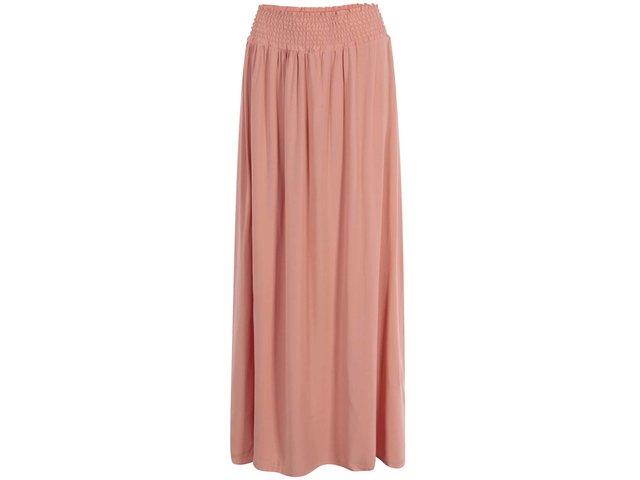 Korálová maxi sukně Vero Moda Easy