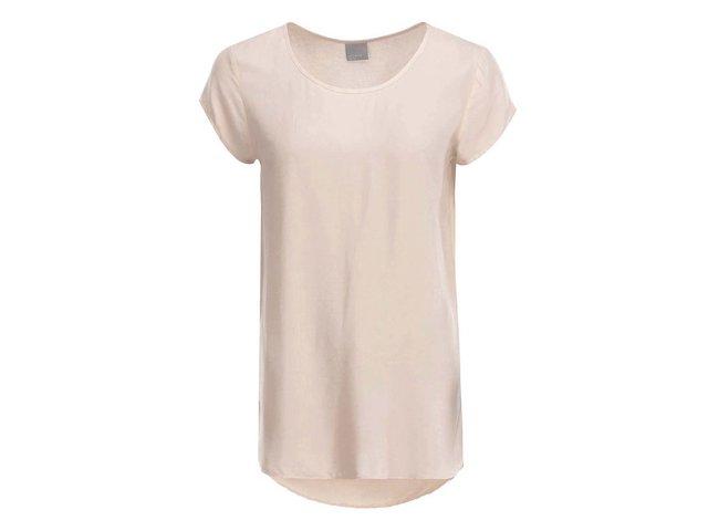 Světle růžový volnější top Vero Moda Boca