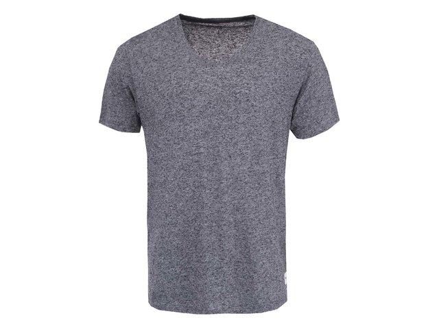 Černo-šedé žíhané triko ONLY & SONS Saint