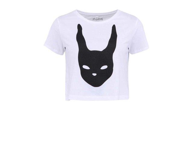 Bílé dámské krátké tričko ZOOT Originál Králík