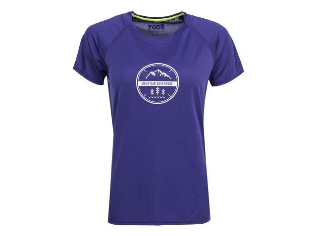 Fialové dámské tričko ZOOT Originál Adventure