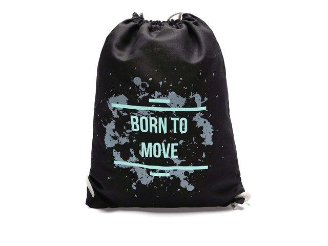 Černý vak s reflexním nápisem ZOOT Originál Born to Move