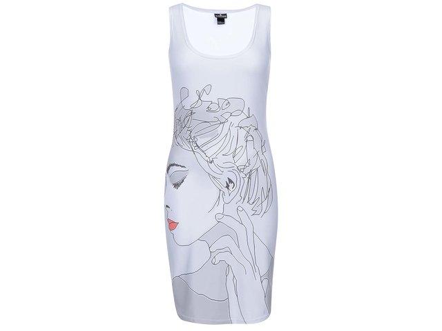 Šedé šaty s potiskem Mr. Gugu & Miss Go She
