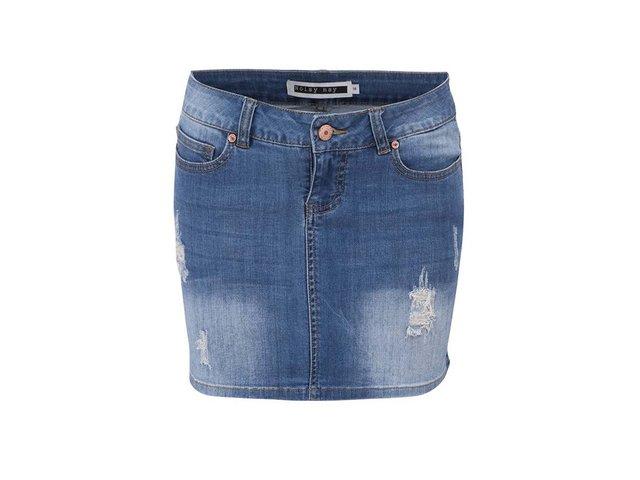 Modrá džínová sukně Noisy May Lusa