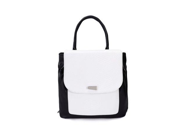 Bílo-černý batoh Steve Madden Cammie