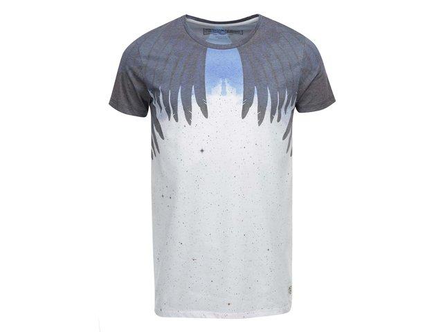 Krémové triko s potiskem Jack & Jones Mike