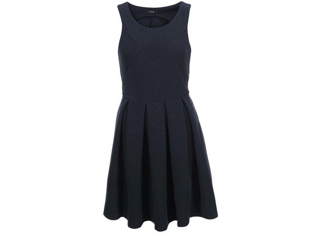 Tmavě modré šaty VILA Shale