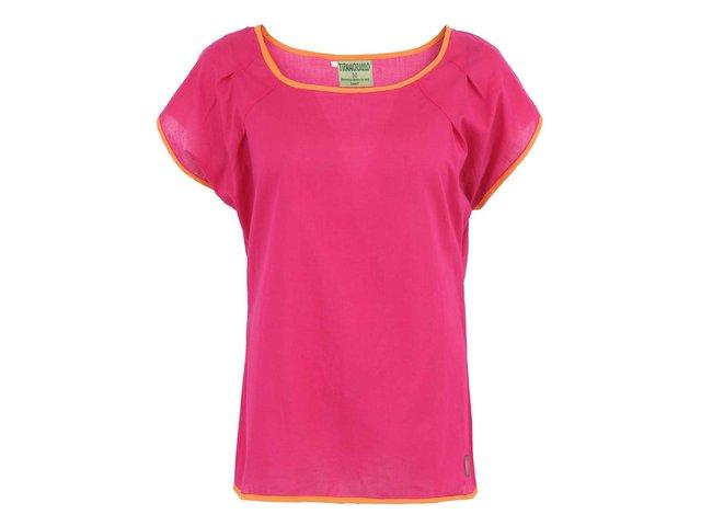 Růžové dámské triko Tranquillo Geneva