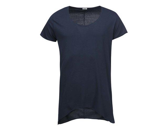 Tmavě modré dlouhé triko Jack & Jones Grifin