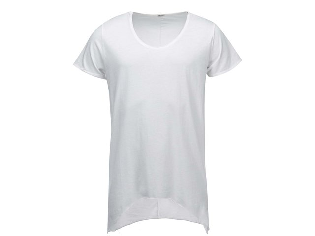 Bílé dlouhé triko Jack & Jones Grifin