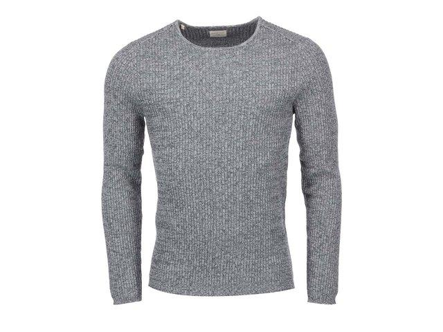 Tmavě šedý svetr Selected Keen