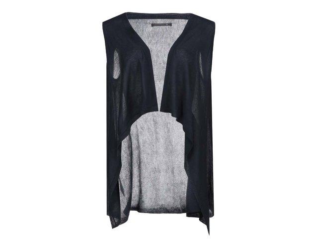 Tmavě modrá pletená vesta ONLY Once