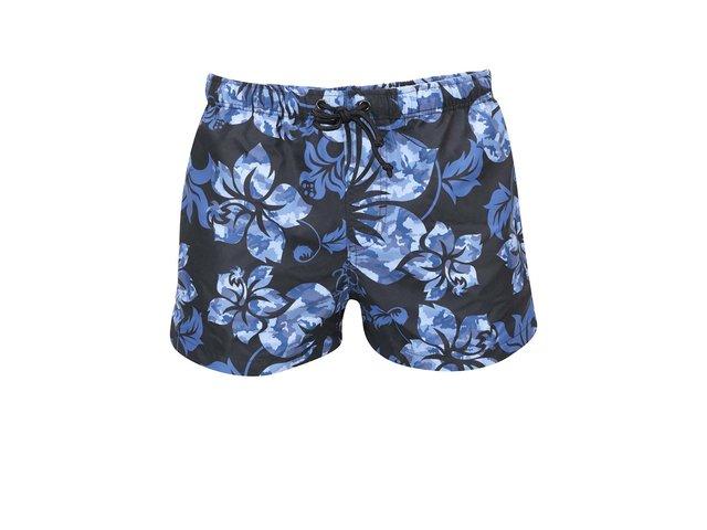 Modro-černé plavky s havajským vzorem aussieBum Mavericks