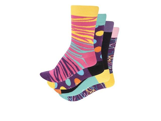 Set barevných dámských ponožek Happy Socks