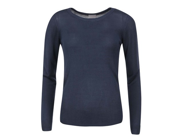 Tmavě modrý lehký svetr Vero Moda Flavia