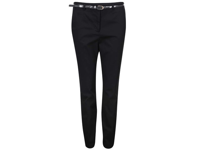 Černé kalhoty Vero Moda Roos